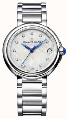 Maurice Lacroix 女式fiaba 32毫米钻石套腕表 FA1004-SS002-170-1