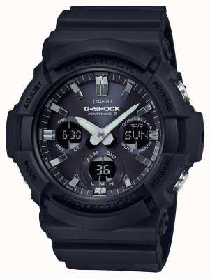 Casio Waveceptor警报计时码表灰色/黑色 GAW-100B-1AER