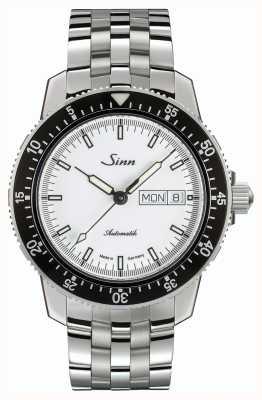 Sinn 104 st sa iw经典飞行员手表不锈钢精致表带 104.012 BRACELET
