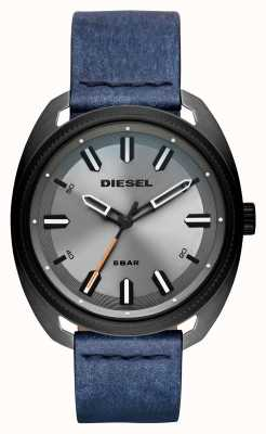 Diesel 男士fastbak牛仔外观皮革表带 DZ1838