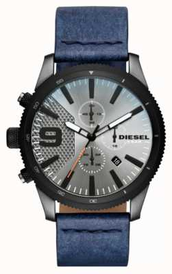 Diesel 男士锉刀chrono牛仔外观手表 DZ4456
