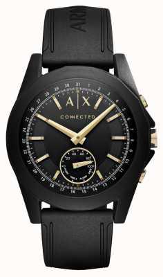 Armani Exchange 男装连接黑色混合型智能手表 AXT1004