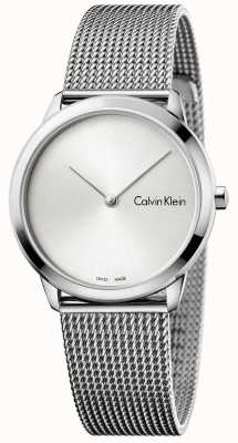 Calvin Klein 女人最小的银色表盘 K3M221Y6