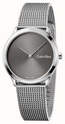 Calvin Klein 女人最小的灰色表盘 K3M221Y3