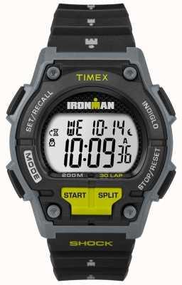 Timex 男性忍受30磅黑色和石灰的冲击 TW5M13800D7PF