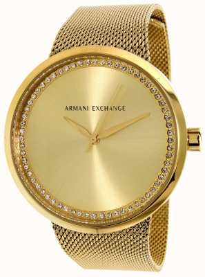 Armani Exchange 女人liv不锈钢 AX4502