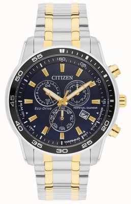 Citizen 男士生态驱动器|不锈钢表带|黑色表盘| BL5514-53L