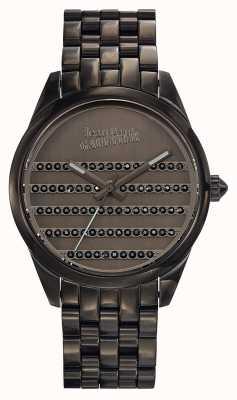 Jean Paul Gaultier 海军枪金属手镯和表盘 JP8502406