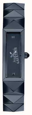 Jean Paul Gaultier 女式迷你朋克蓝色不锈钢蓝色表盘 JP8504004
