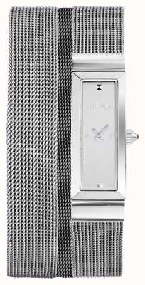 Jean Paul Gaultier (无盒)女士cote de maille不锈钢网状手链 JP8503901