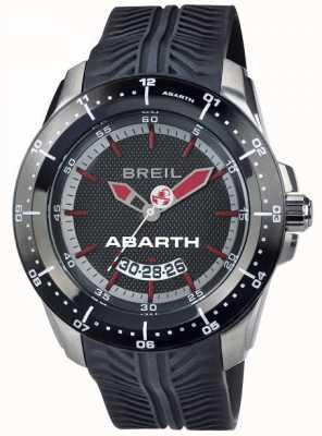 Breil Abarth不锈钢ip黑色和红色索引表盘 TW1486