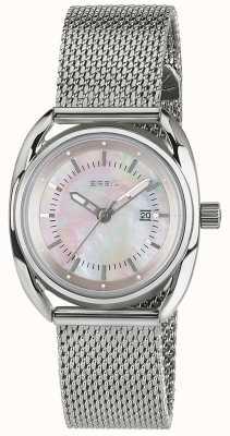 Breil Beaubourg不锈钢粉红色珍珠贝母表盘 TW1680