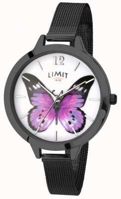 Limit 女装秘密花园黑色网状蝴蝶手表 6274.73