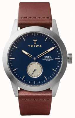 Triwa 公爵斯皮拉棕色经典银 SPST104-CL010212