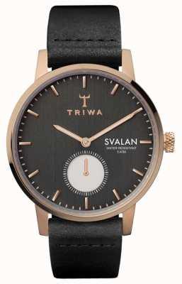 Triwa Noir svalan黑色经典超薄 SVST101-SS010114