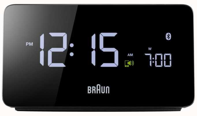 Braun 数字蓝牙闹钟 BNC020BK