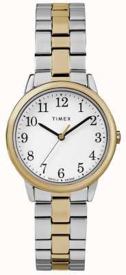 Timex 轻松读者女性30毫米不锈钢手表 TW2R58800