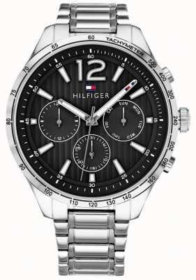 Tommy Hilfiger 男装gavin计时腕表不锈钢表链 1791469