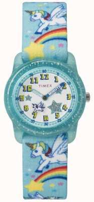 Timex 青年模拟28毫米深青色独角兽 TW7C256004E
