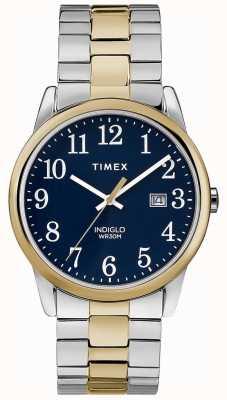 Timex 男士38mm探险乐队双色不锈钢手镯 TW2R58500