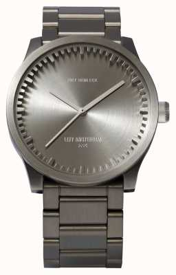 Leff Amsterdam Tube watch s38精钢表壳精钢表链 LT71101