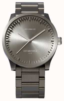Leff Amsterdam Tube watch s42精钢表壳精钢表链 LT72101