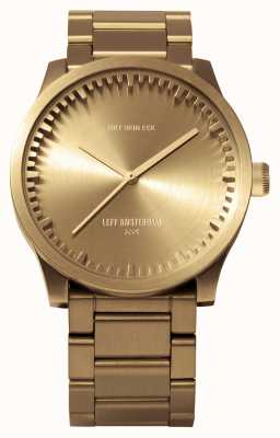 Leff Amsterdam Tube watch s38黄铜表壳黄铜表链 LT71103