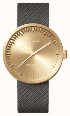 Leff Amsterdam Tube watch d42黄铜表壳灰色cordura表带 LT72025