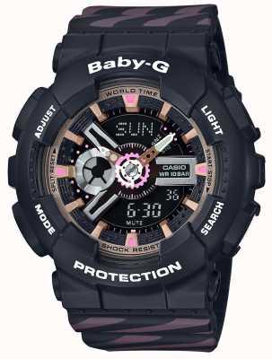 Casio Baby-g机会闹钟计时码表 BA-110CH-1AER