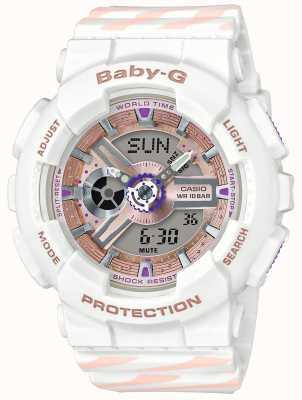 Casio Baby-g机会闹钟计时码表 BA-110CH-7AER