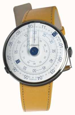 Klokers Klok 01蓝色头套Newport黄色单肩带 KLOK-01-D4.1+KLINK-01-MC7.1