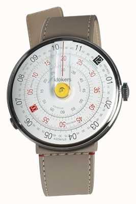 Klokers Klok 01黄色手表头grege strait单肩带 KLOK-01-D1+KLINK-04-LC9