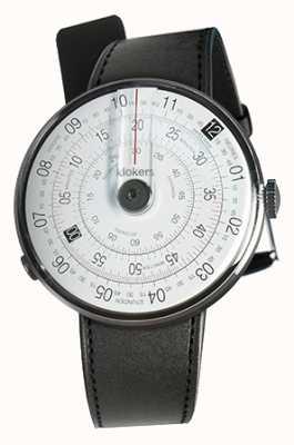 Klokers Klok 01黑色手表头黑色缎面单肩带 KLOK-01-D2+KLINK-01-MC1