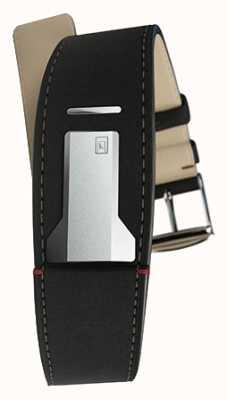 Klokers Klink 01垫黑色表带仅22mm宽230mm长 KLINK-01-MC2