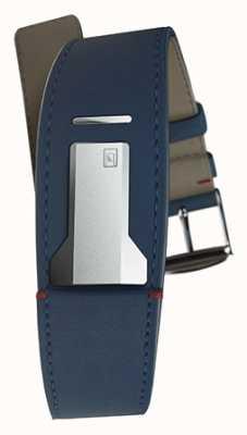 Klokers Klink 01靛蓝色表带仅22mm宽230mm长 KLINK-01-MC3