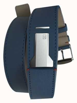 Klokers Klink 02靛蓝蓝色双表带仅18mm宽380mm长 KLINK-02-380C3