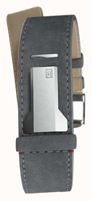 Klokers Klink 04灰色鼠标直单肩带只有22mm宽 KLINK-04-LC11