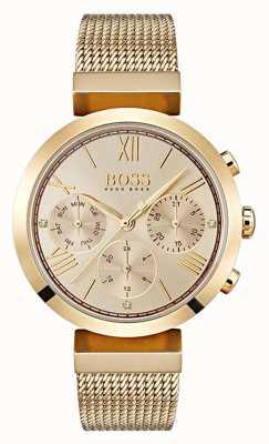 Hugo Boss 女士多功能经典运动黄金日期和日期显示 1502425