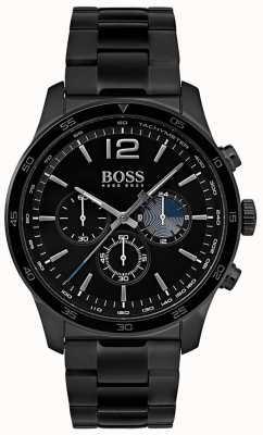 Hugo Boss 男士专业计时手表镀铁手镯 1513528