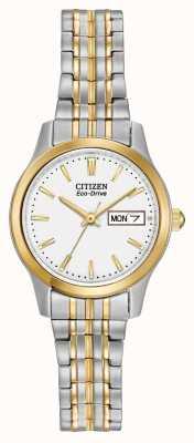 Citizen 女装扩展手环生态驱动 EW3154-90A