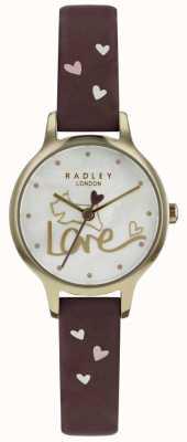 Radley 女装爱表真皮表带镀金 RY2578