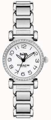 Coach 女士麦迪逊表钢表链白色手链 14502851