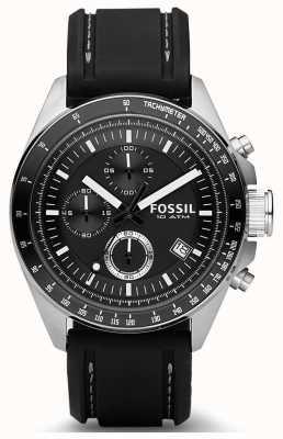 Fossil 男士迪克斯硅胶表带 CH2573IE