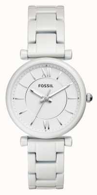 Fossil 女装carlie不锈钢表带 ES4401