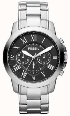 Fossil 男士授予不锈钢表带 FS4736IE