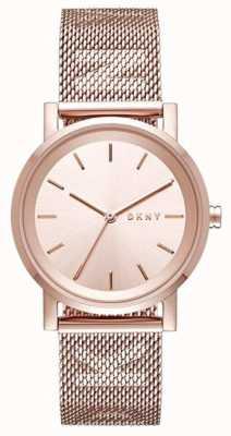 DKNY 女士soho不锈钢表带 NY2622