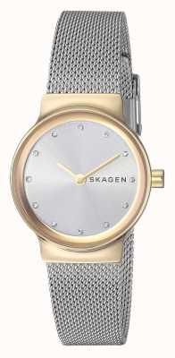 Skagen 女士的freja不锈钢网布表带 SKW2666