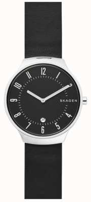 Skagen 男士grenen皮革表带 SKW6459