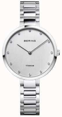 Bering 水晶套钛金属表壳和手镯 11334-770
