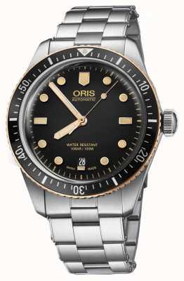 Oris 潜水员六十五个不锈钢手镯表 01 733 7707 4354-07 8 20 18